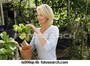 plantas mujer botanica