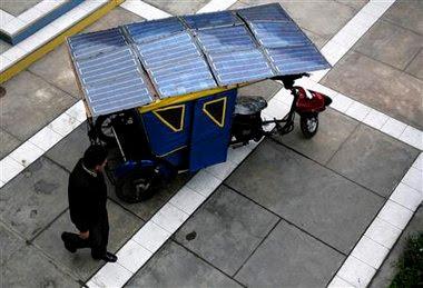 Mototaxi Solar