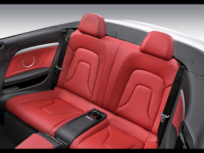 Audi A5 Convertible Asientos