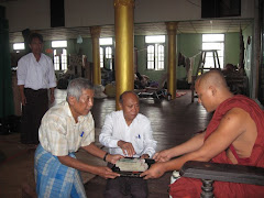 NLD seniors rerouted the donation through Buddhist monastery