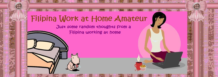 Filipina Work At Home Amateur