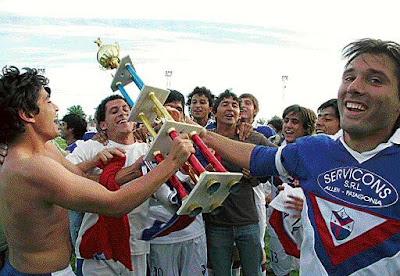 Campeón Liga Deportiva Confluencia Clausura ´08