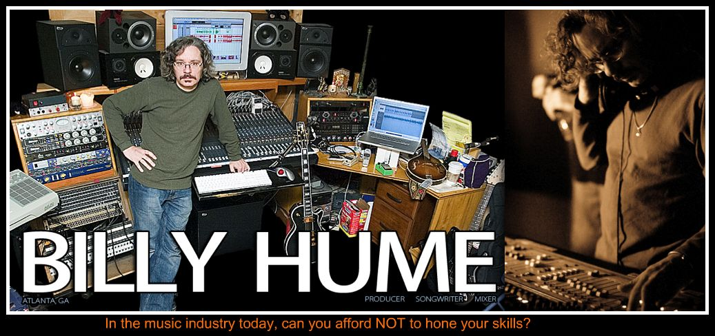 Mixing and Production Workshops by Billy Hume