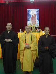 地藏菩萨孝亲超度法会主持法师。