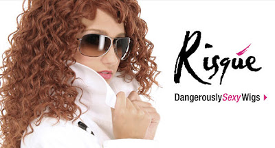 Curly Risque Wigs Woman