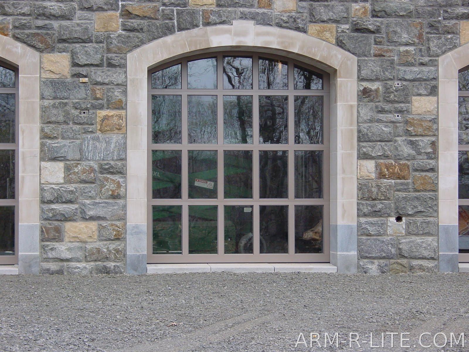 Dreamhaus53 retractable glass walls for Platinum garage doors