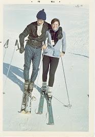 1968 Macugnaga si scia con Ivana