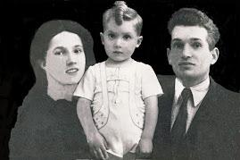 La famiglia Manenti con il primogenito