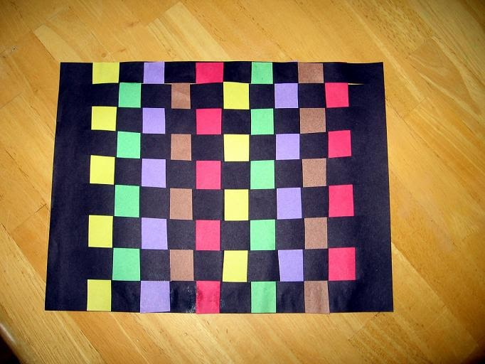 Basket Weaving Using Construction Paper : Kid daze underwater basket weaving for kids