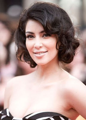 Kardashian Short Hair on Kim Kardashian Short Hair Jpg