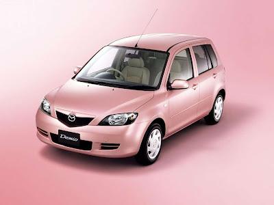2003 Mazda Demio Stardust Pink Limited Edition Mazda Auto Twenty