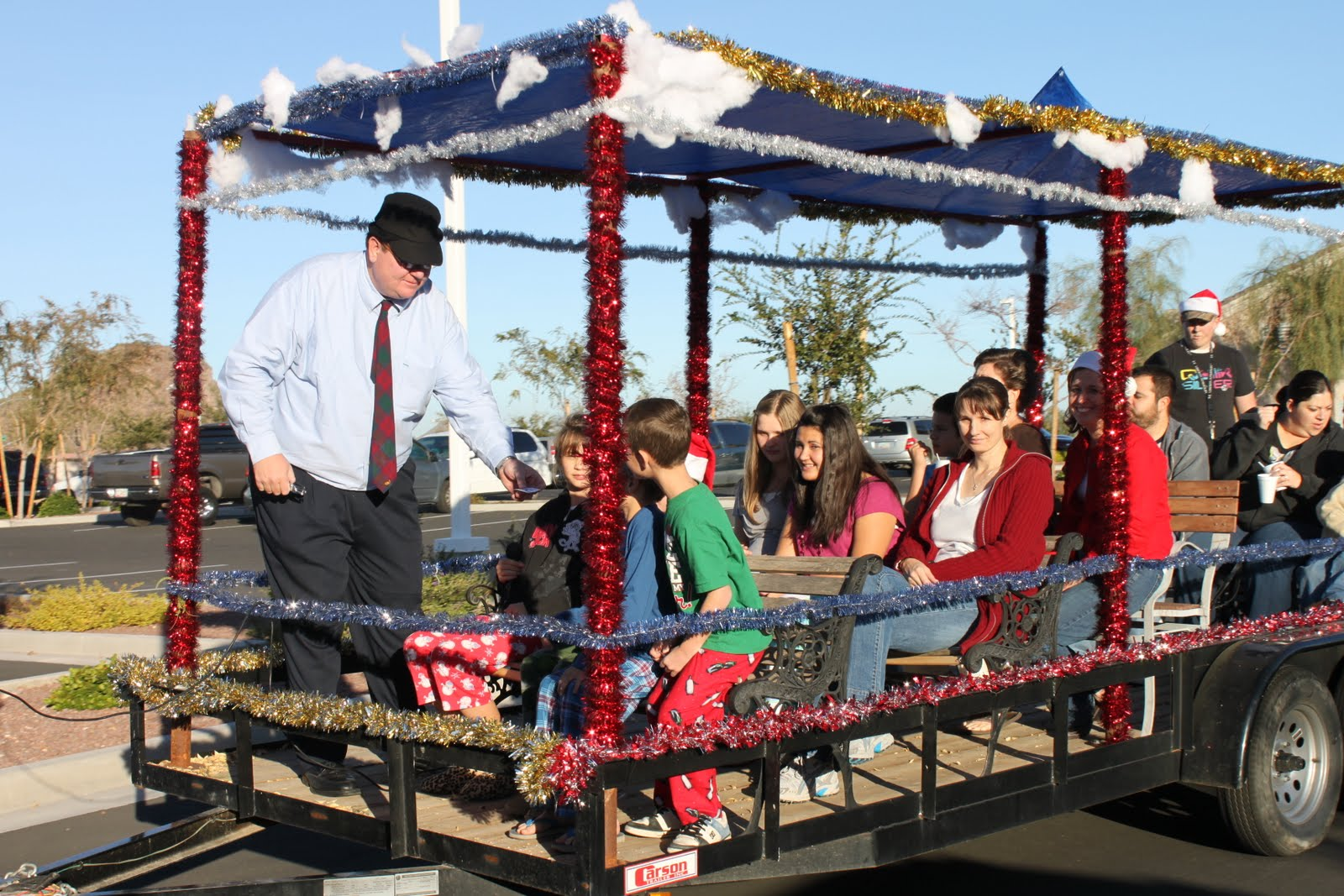 JOY FOR YOUR JOURNEY: Our Polar Express Party