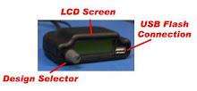 Nuevo sistema para Carga diseños de bordado, Usb Flash Reader