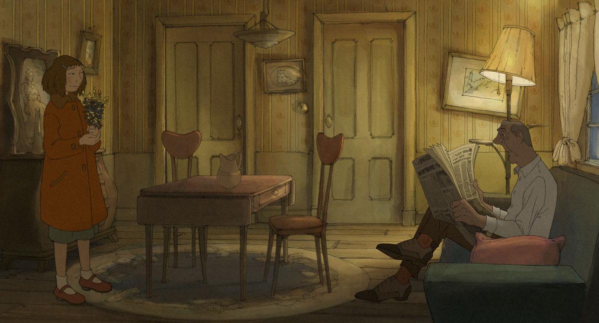 Tres cosas hermosas una peque a joya en dibujos animados for Salida de la oficina internacional de origen aliexpress