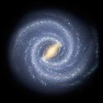 Vía Láctea según la NASA