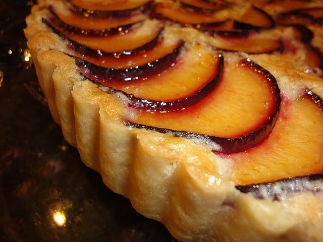 ... fresh plum frangipane tart recipe dishmaps plum and frangipane tart