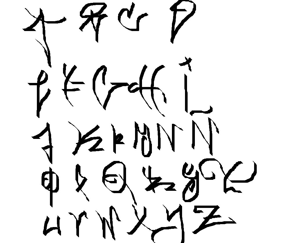 abecedario tag