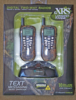 TriSquares EXRS Extreme Radio Service Products Are New Technology Hand Held Portable Two Way Radios Utilizes Advanced Digital Frequency