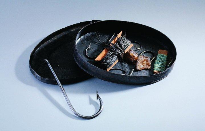 The rasch outdoor chronicles george washington fisherman for Pocket fishing kit