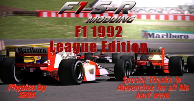 F1 1992 mod para rFactor