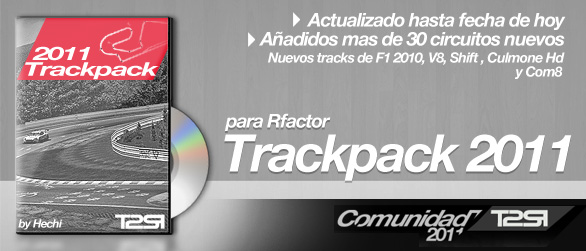 trackpack circuitos rFactor