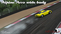 previews mod historX Alpine A110 Widebody para rFactor