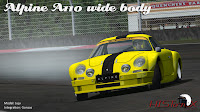 previews mod historX Alpine A110 Widebody para rFactor