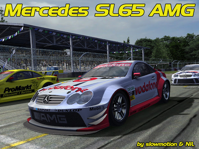 mod Mercedes SL65 AMG para rFactor