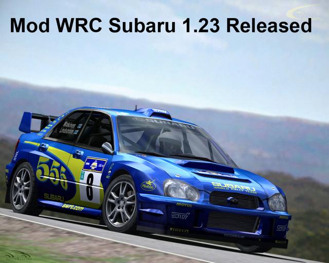 WRC Subaru para rFactor