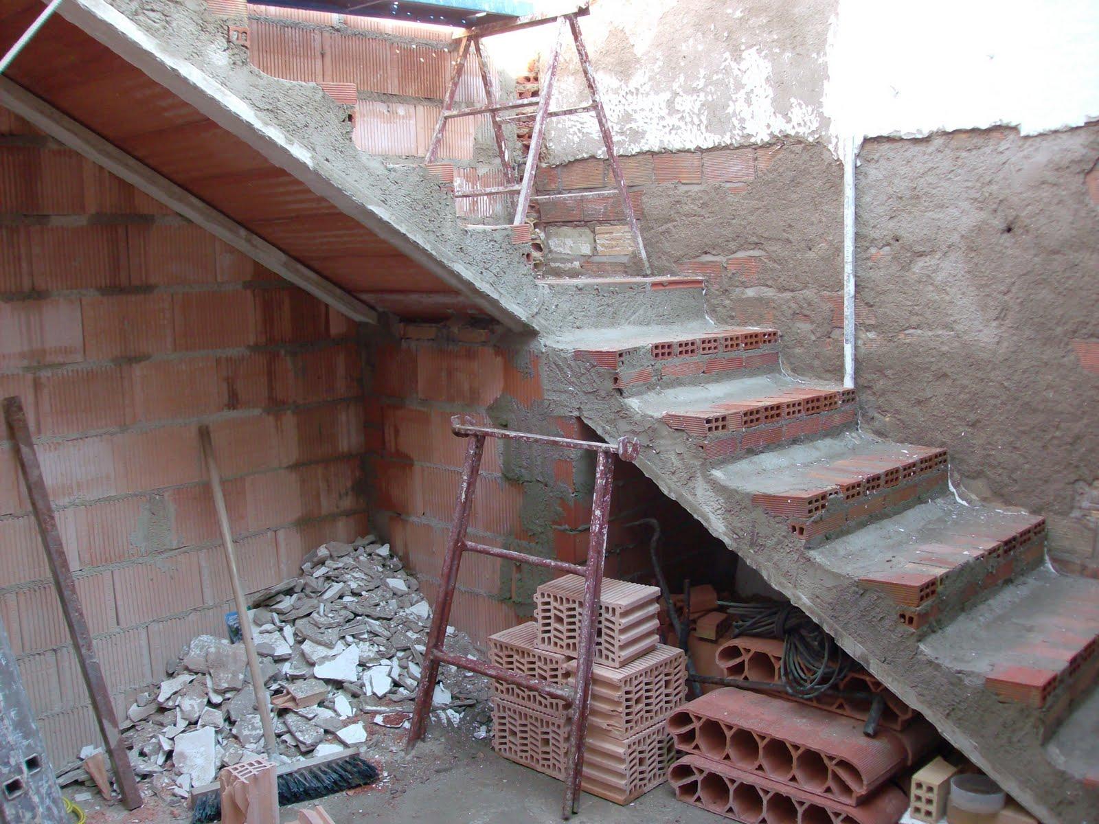 Fotografiando historia de una obra de verano - Escaleras de obra ...