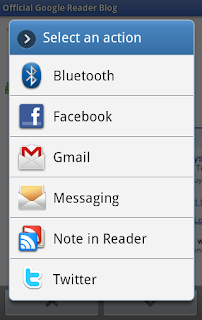 Google Reader Android