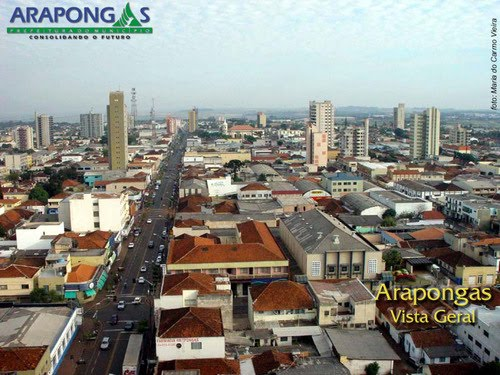 arapongas, paraná,centro da cidade, turismo
