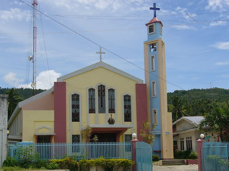 Calubian Philippines  city photos : Our Lady of Fatima Parish Church at Calubian, Leyte, Philippines.
