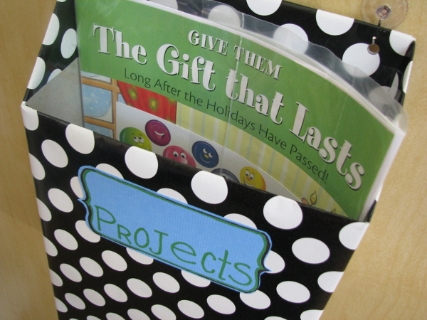 Make happy recycled cereal box to project holder for Cereal box project for school