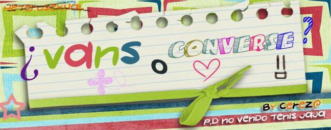 ¿Vans o Converse?