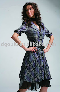 Fashion ladies dress ladies clothing woman clothing 2009 new