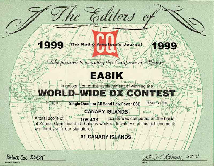 CQ WW DX SSB 1999