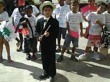 Culminância do Projeto: apresentação das crianças!