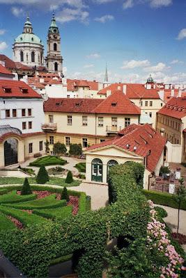 Poza terasa si gradina faimoasa Praga
