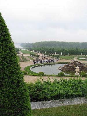 Castelul Versailles - gradinile