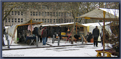 Saturday Flea Market at Fehr Belliner Platz
