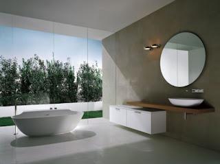 Modern bathtub by Michael Schmidt