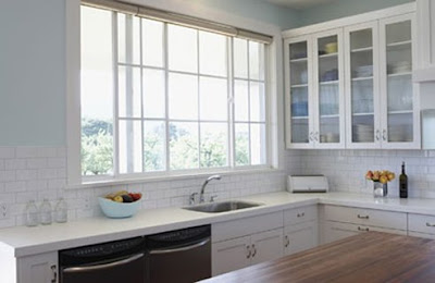 , inquired about any ideas I may have for a small L-shaped kitchen