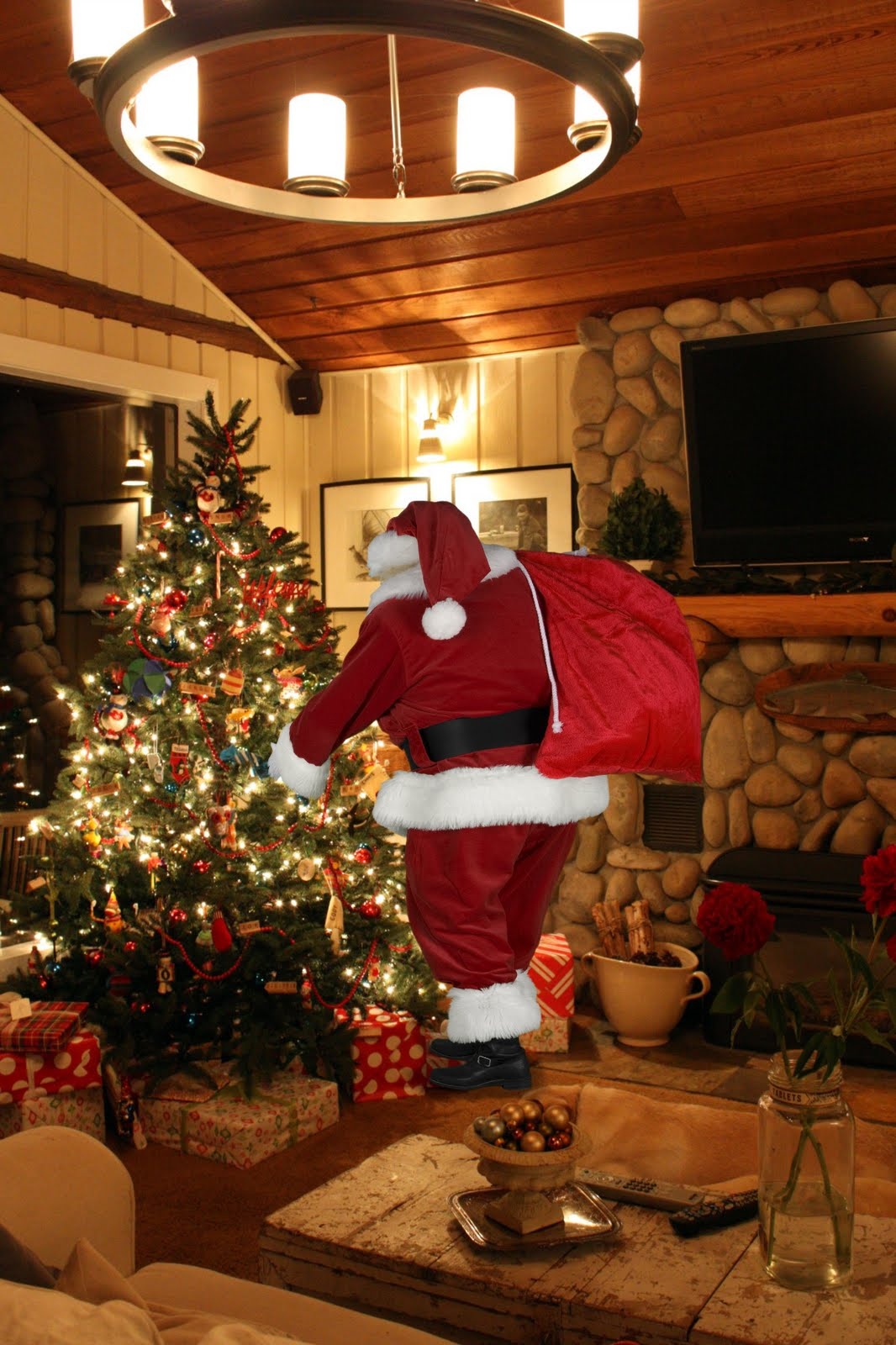 Elegant Ideas Santa In Your Living Room On Part 23