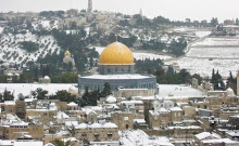 Jerusalem in winter