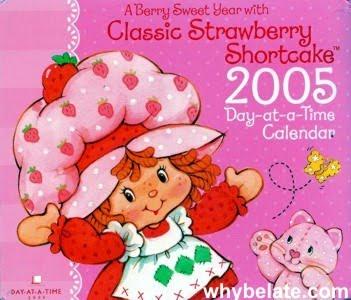 Calendario Frutillita 2005