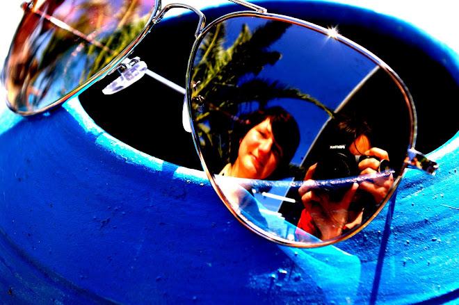 Babsi,mi cámara y yo.