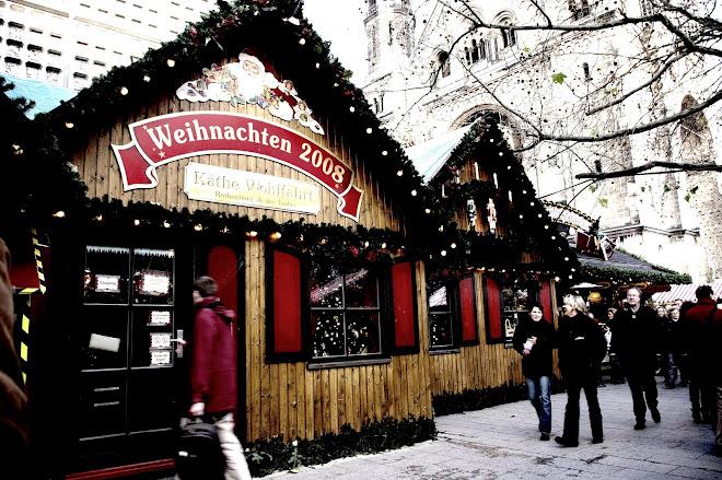 Mercado de Navidad.Kurfürsten-damm
