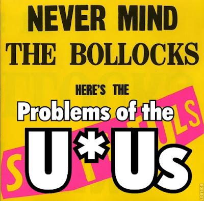 Problems sex pistols lyrics