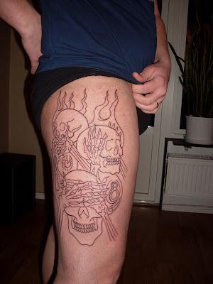 Citte ska under Tattoo Meltdown mässan i Trollhättan vara med och visa sig